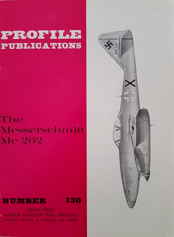 Image for The Messerschmitt Me 262 (Profile Publications Number 130)