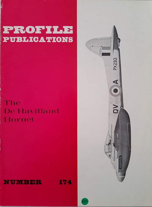 Image for The de Havilland Hornet (Profile Publications Number 174)