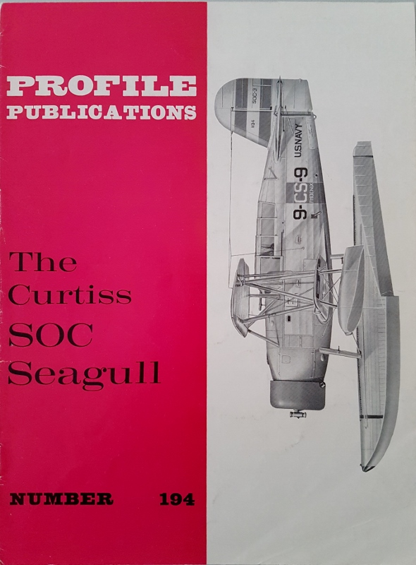 Image for The Curtiss SOC Seagull (Profile Publications 194)