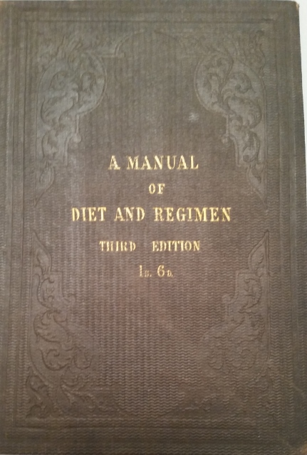Image for A Manual of Diet and Regimen for Physician and Patient