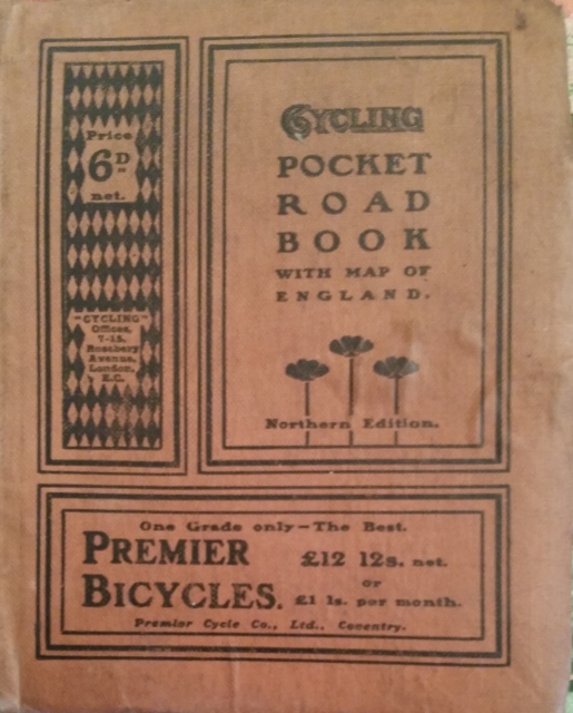 Image for Cycling Pocket Road Book Northern Edition