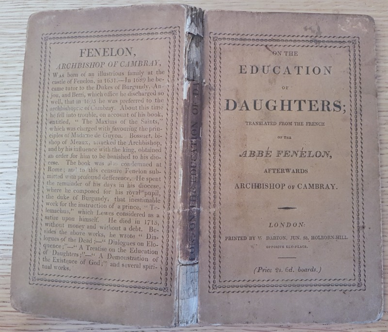 Image for On the Education of Daughters; Translated from the French