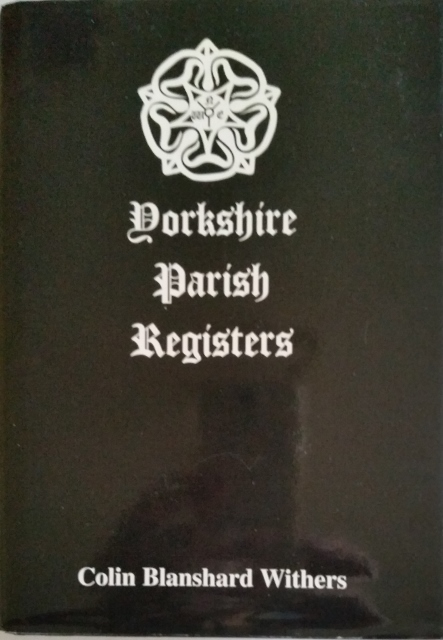 Image for Yorkshire Parish Registers Volume 1 Church of England