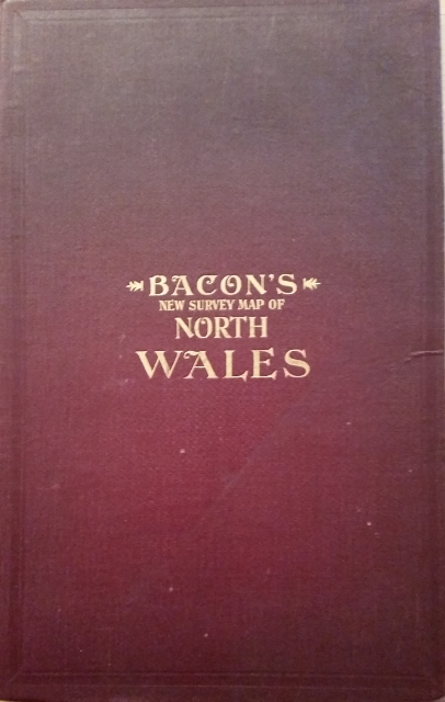 Image for Bacon's New Survey Map of North Wales