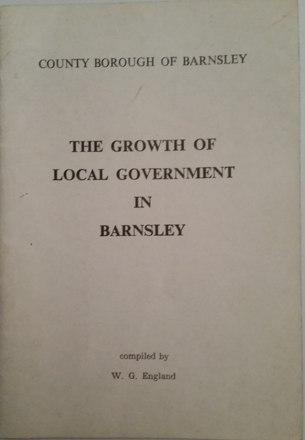 Image for The Growth of Local Government in Barnsley