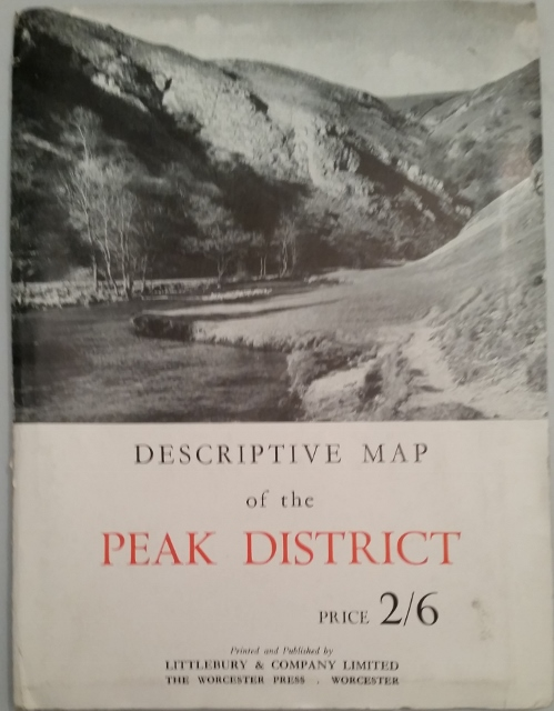 Image for Descriptive Map of the Peak District