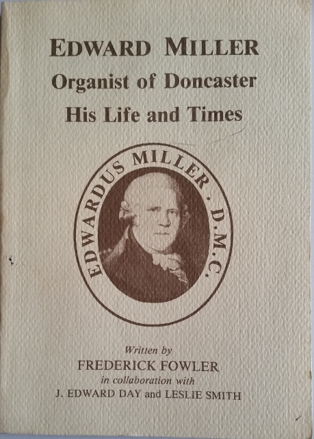 Image for Edward Miller Organist of Doncaster: His Life and Times