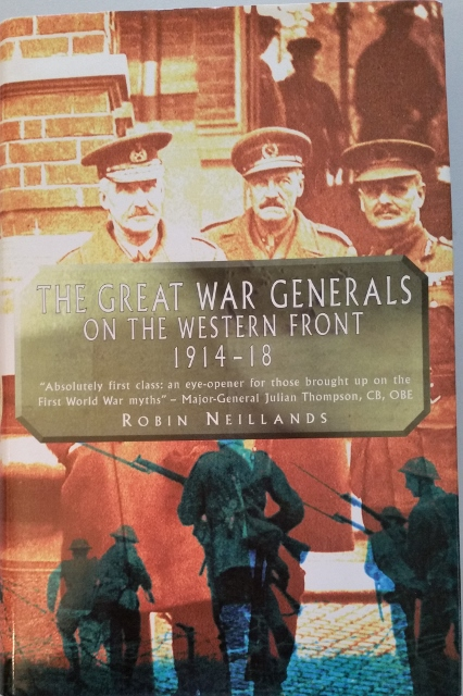 Image for The Great War Generals of the Western Front 1914-18