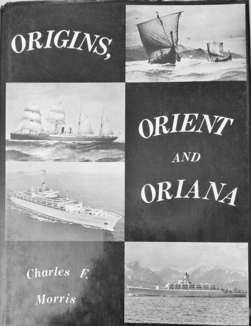 Image for Origins, Orient and Oriana