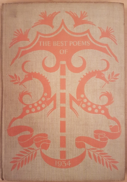 Image for The Best Poems of 1934