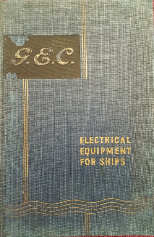 Image for G.E.C. Electrical Equipment for Ships