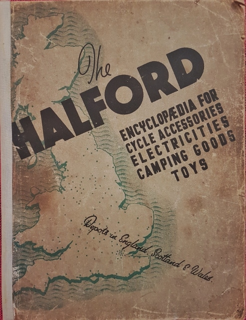 Image for The Halford Encyclopaedia for Cycle Accessories Electricities Camping Goods Toys