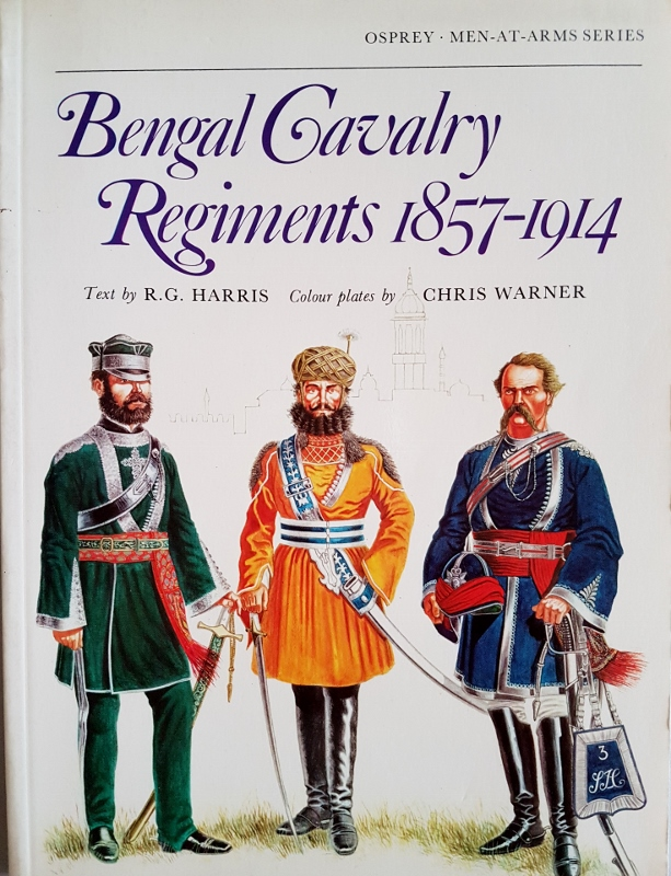 Image for Bengal Cavalry Regiments, 1857-1914 (Men-at-Arms)