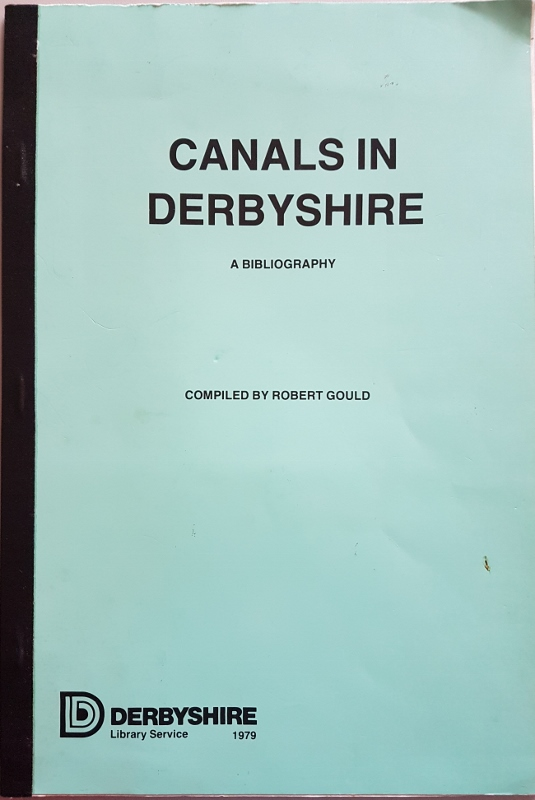 Image for Canals in Derbyshire: A Bibliography