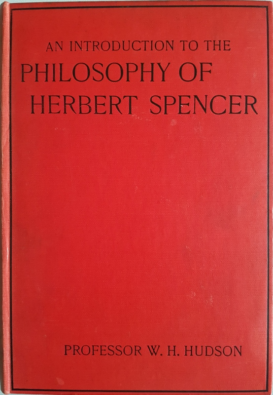Image for An Introduction to the Philosophy of Herbert Spencer