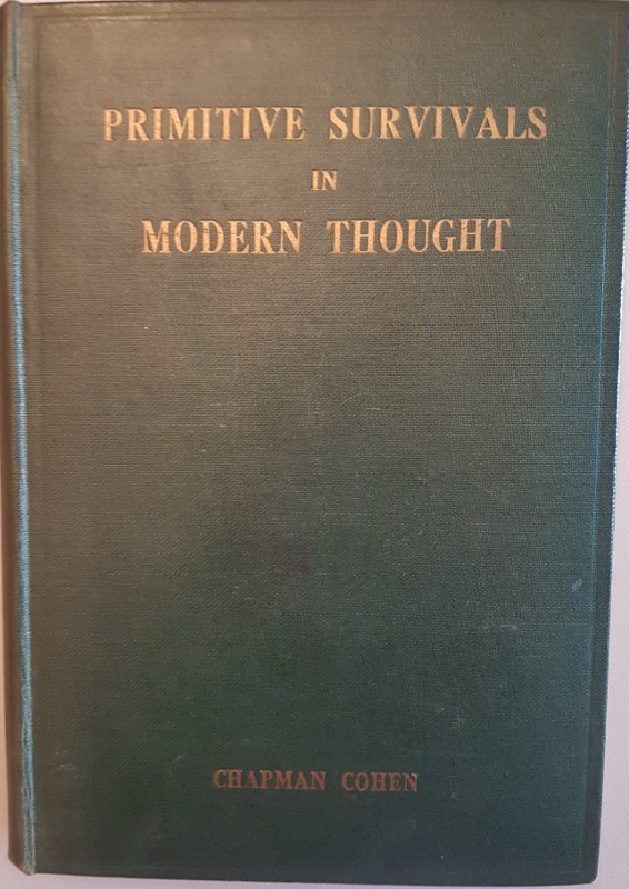 Image for Primitive Survivals in Modern Thought