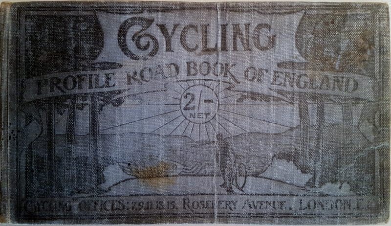 Image for Cycling Profile Road Book of England : A Guide to the Main Routes Throughout the Country