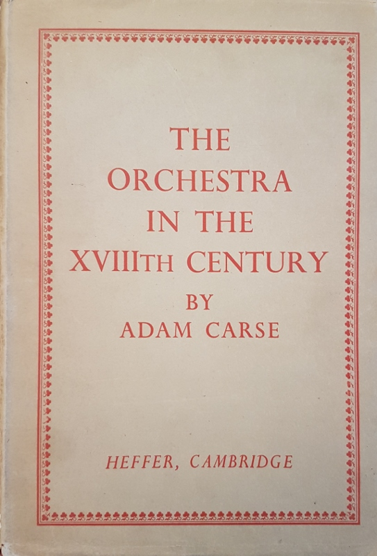 Image for The Orchestra in the XVIIIth Century