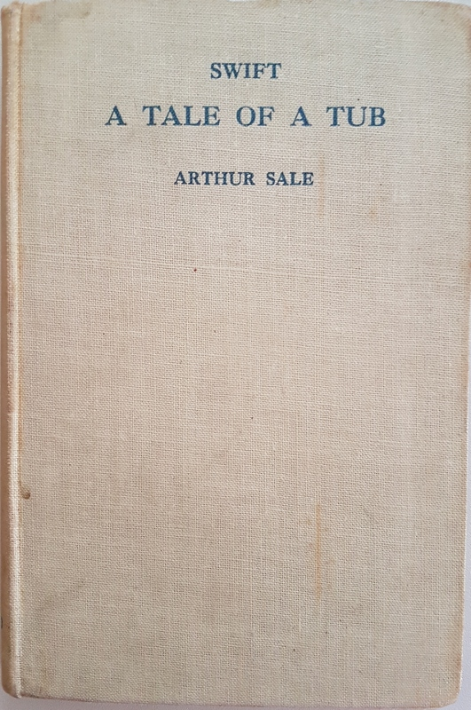 Image for A Tale of a Tub with Introduction and Notes by Arthur Sale