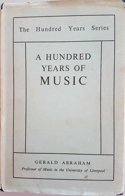 Image for A Hundred Years of Music