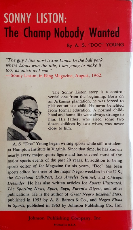 Image for Sonny Liston The Champ Nobody Wanted