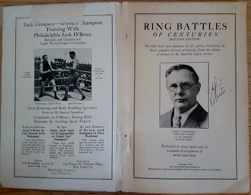 Image for Ring Battles of Centuries and Sporting Almanac