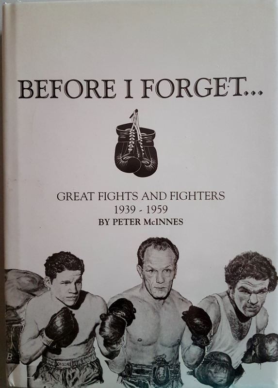 Image for Before I Forget...Great Fights and Fighters 1939-1959