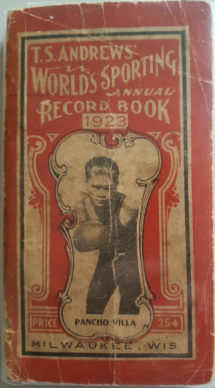 Image for T. S. Andrews' World's Annual Sporting Record Book 1923