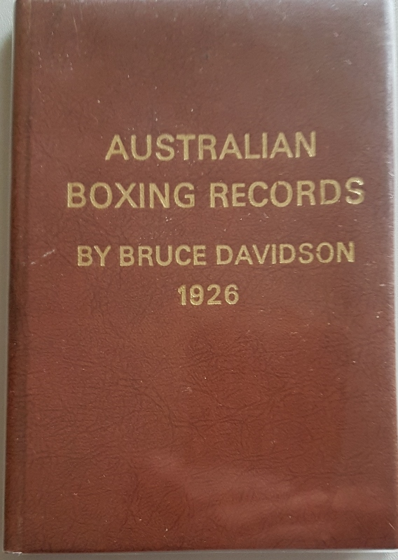 Image for Australian Boxing Records Series No. 1 1926