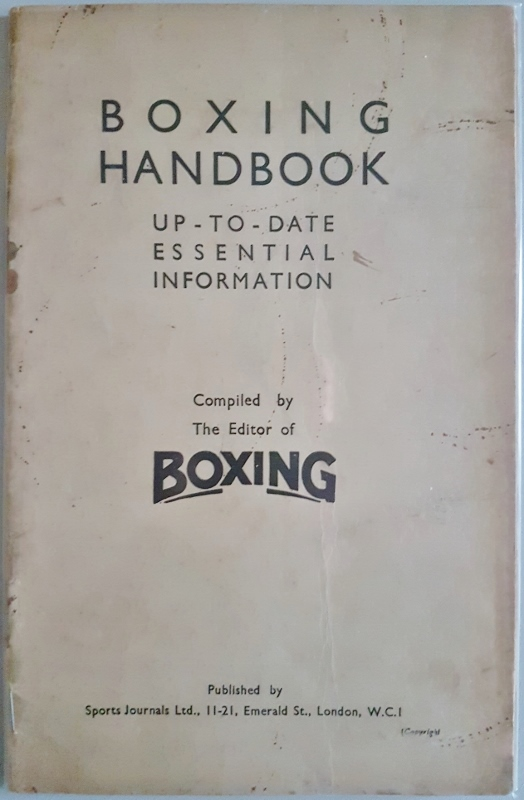 Image for Boxing Handbook : Up-to Date Essential Information