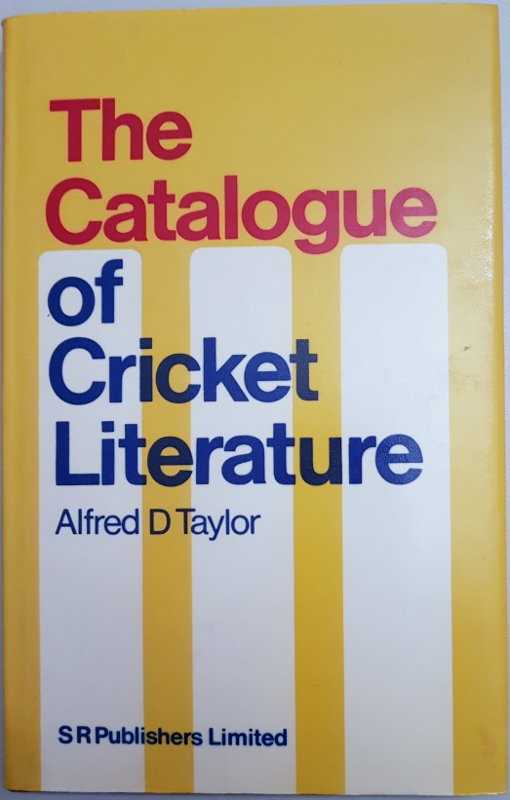 Image for The Catalogue of Cricket Literature