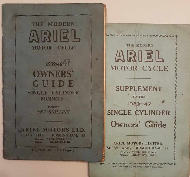 Image for The Modern Ariel Motor Cycle 1939-47 Owners' Guide  Single Cylinder Models