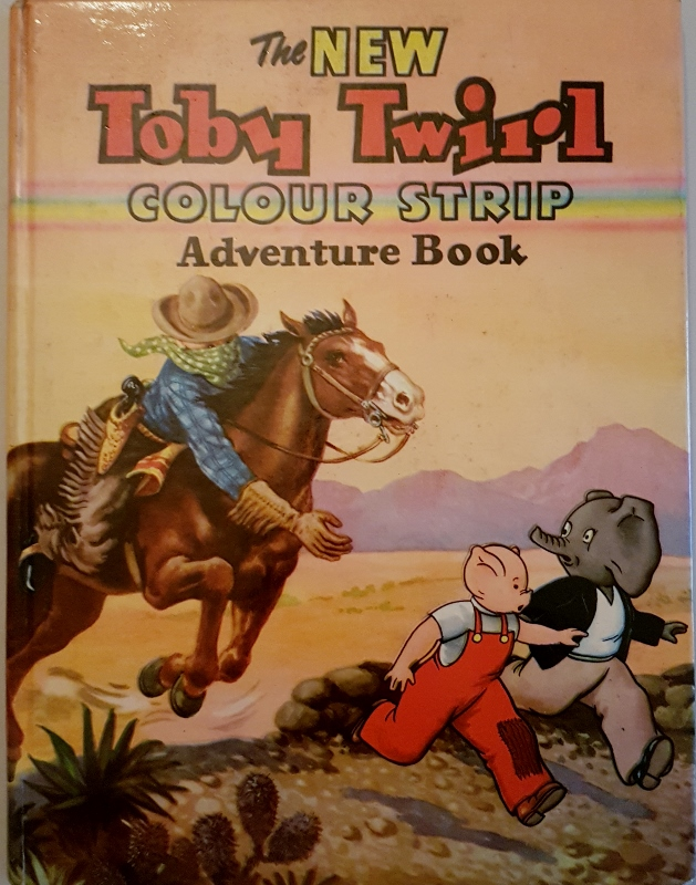 Image for The New Toby Twirl Colour Strip Adventure Book