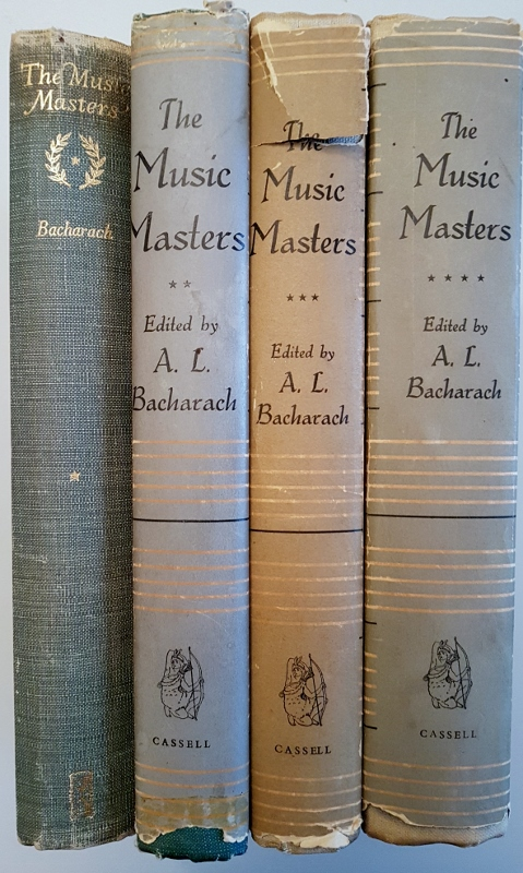Image for The Music Masters  4 Volume Set.