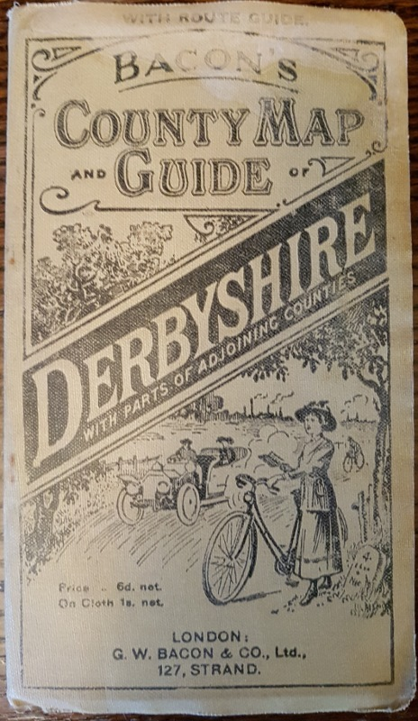 Image for Bacon's County Map and Guide : Derbyshire with Parts of Adjoining Counties