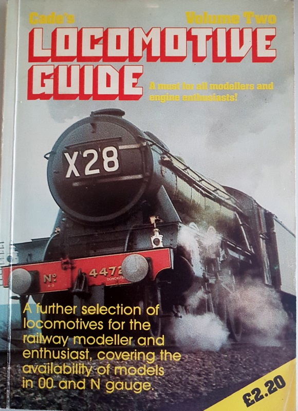 Image for Cade's Locomotive Guide Volume Two