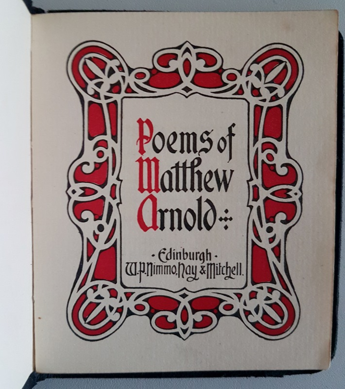 Image for Poems of Matthew Arnold