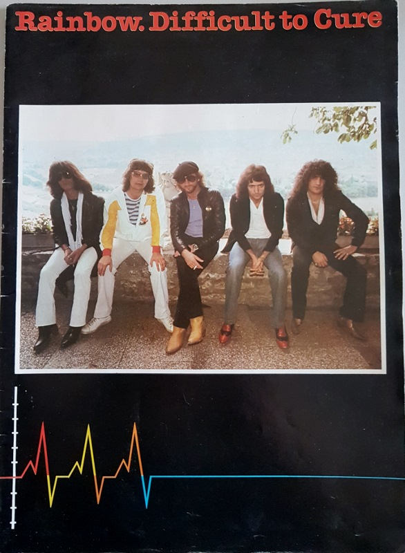 Image for Rainbow. Difficult to Cure : Souvenir Programme Summer 81