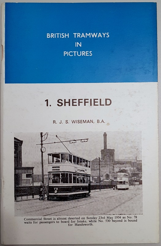 Image for British Tramways in Pictures. 1. Sheffield