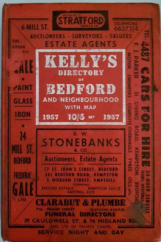 Image for Kelly's Directory of Bedford and Neighbourhood