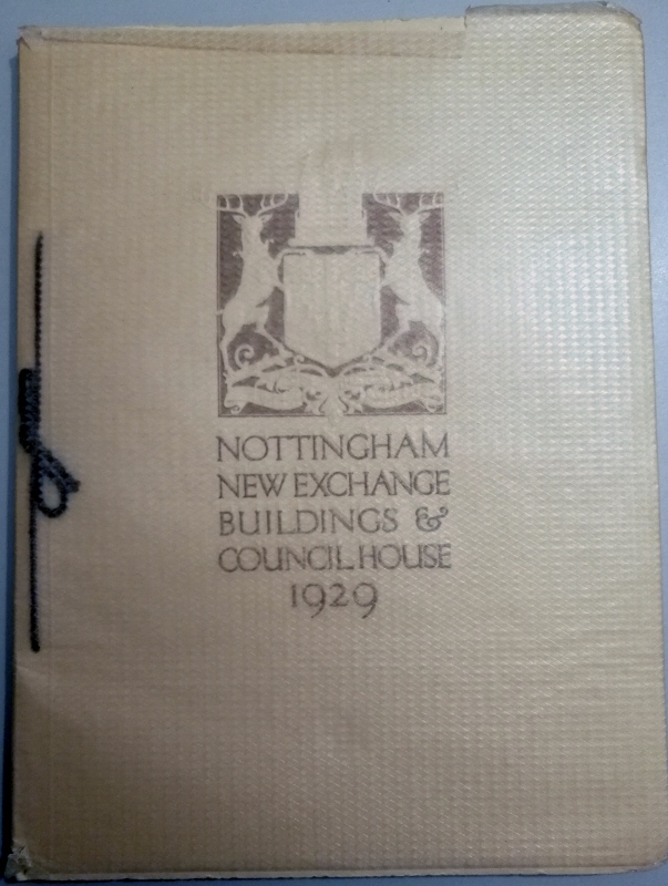 Image for Nottinghamshire New Exchange Buildings and Council House 1929