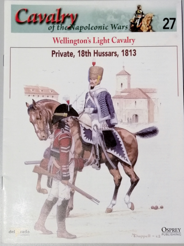 Image for Cavalry of the Napoleonic Wars 27: Wellington's Light Cavalry