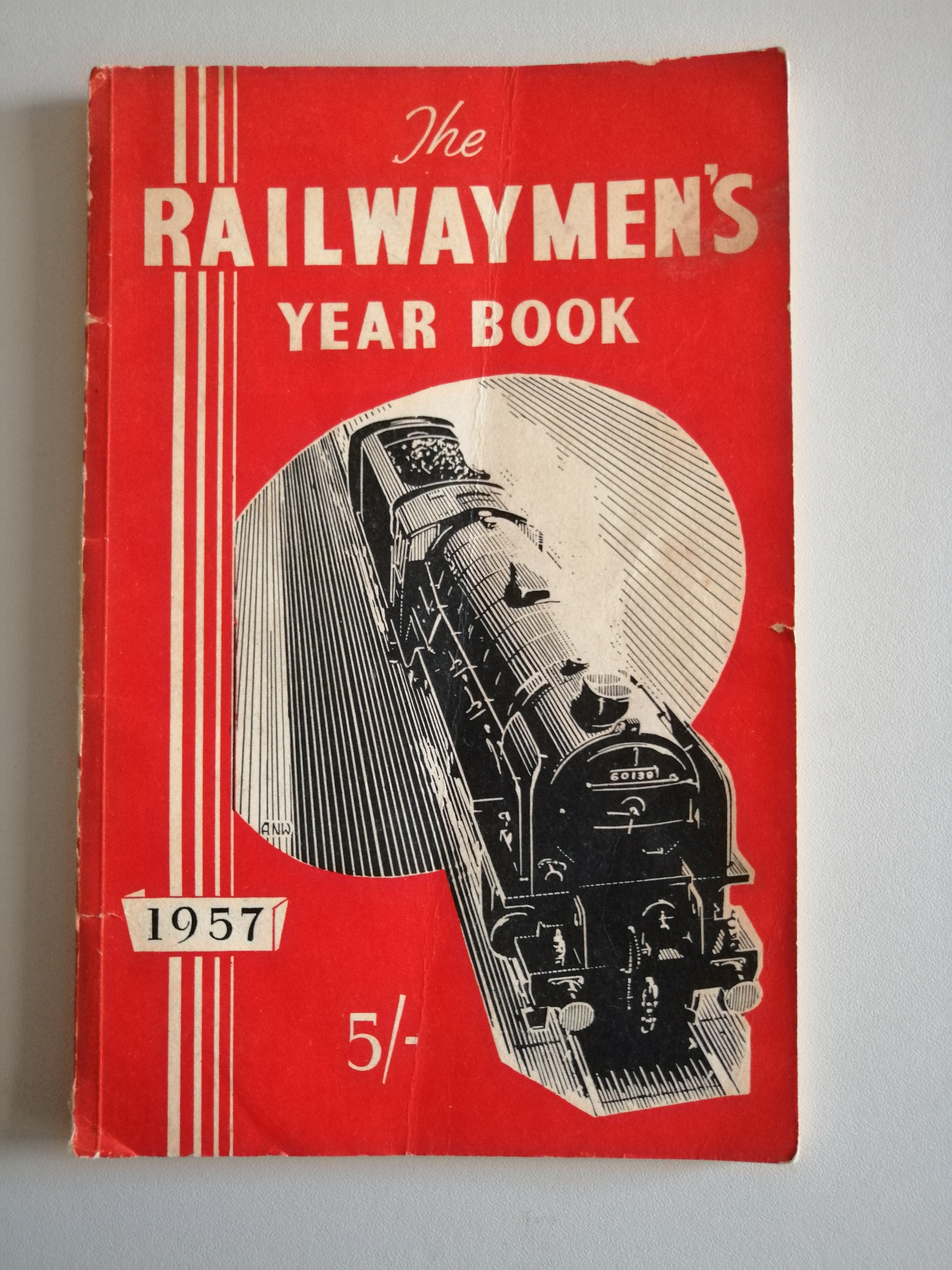 Image for The Railwaymen's Year Book 1957