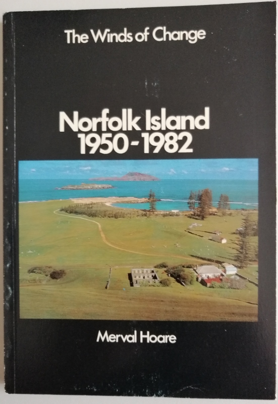 Image for The Winds of Change. Norfolk Island 1950-1982