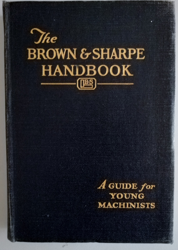 Image for Handbook for Young Machinists (The Brown & Sharpe Handbook)