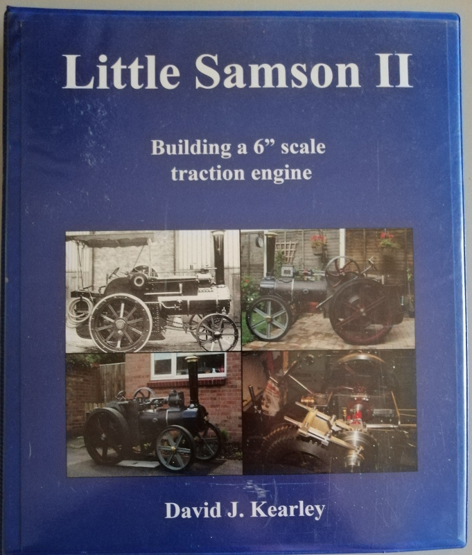"Image for Little Samson II - Building a 6"" Scale Traction Engine"