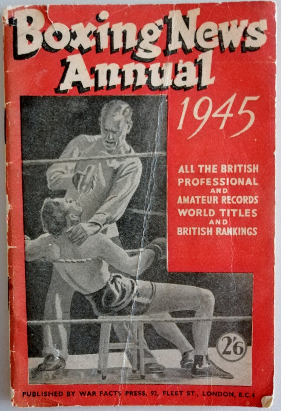 Image for Boxing News Annual 1945