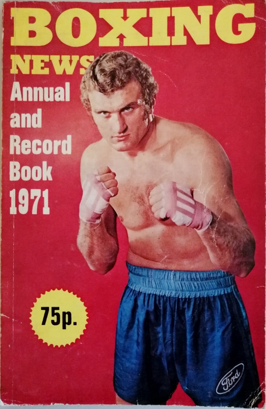 Image for Boxing News Annual and Record Book 1971