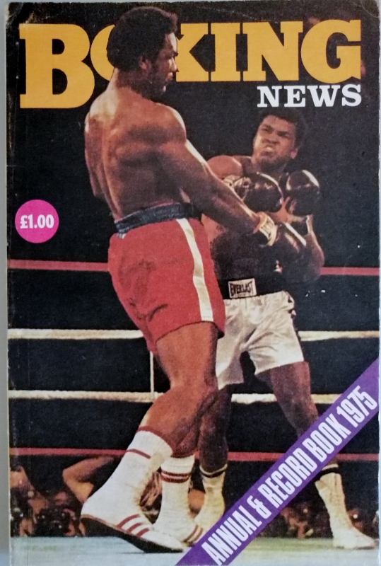 Image for Boxing News Annual and Record Book 1975