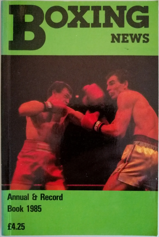 Image for Boxing News Annual and Record Book 1985